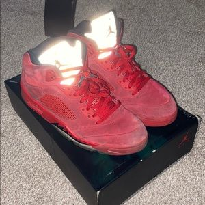 "Air Jordan 5 ""Red Suede"""
